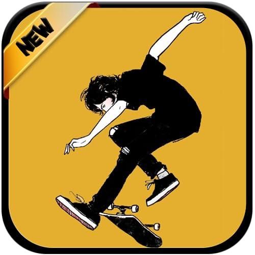 Skate Wallpapers Art - 4K Offline Wallpaper And backgrounds