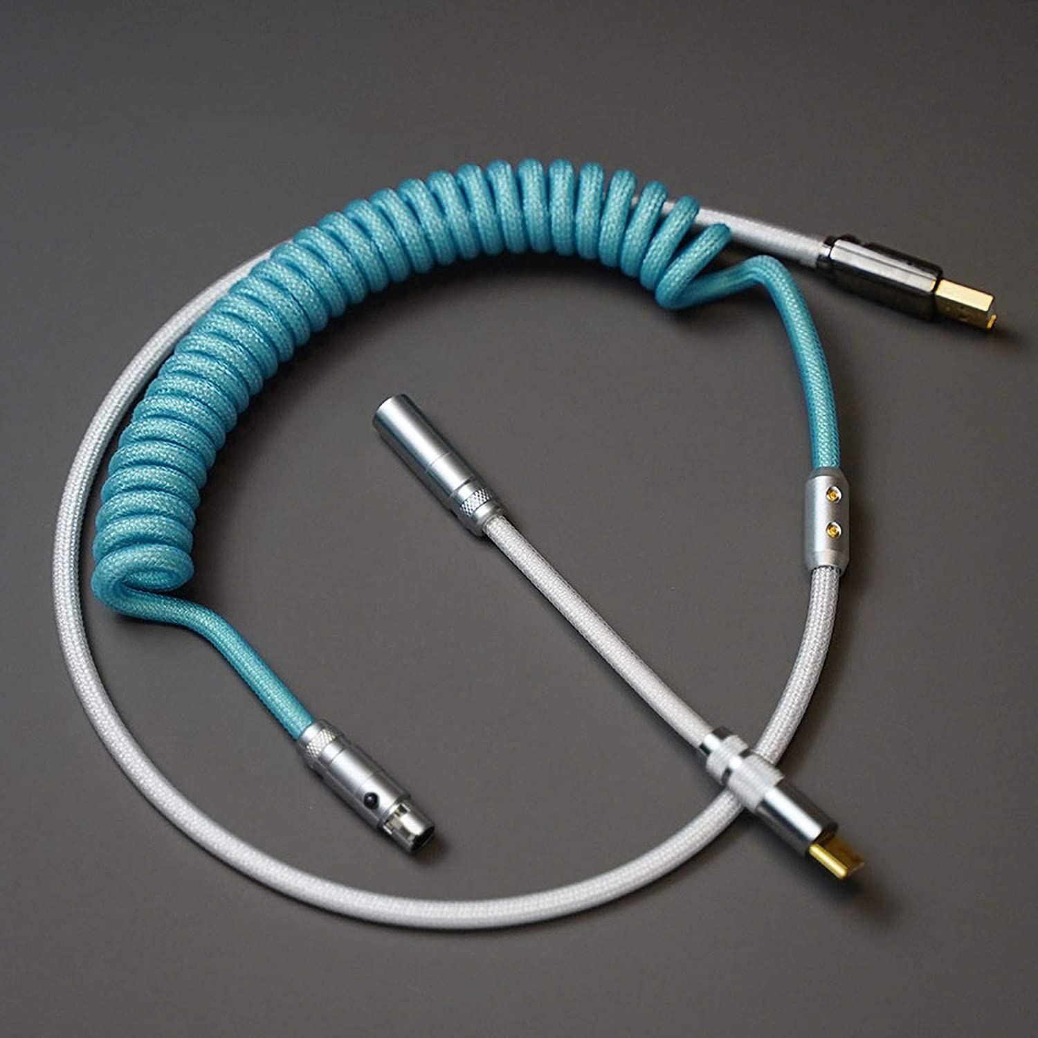Type-C Interface Be super welcome New Free Shipping USB Cable 100 cm for Spiral Spr Keyboard