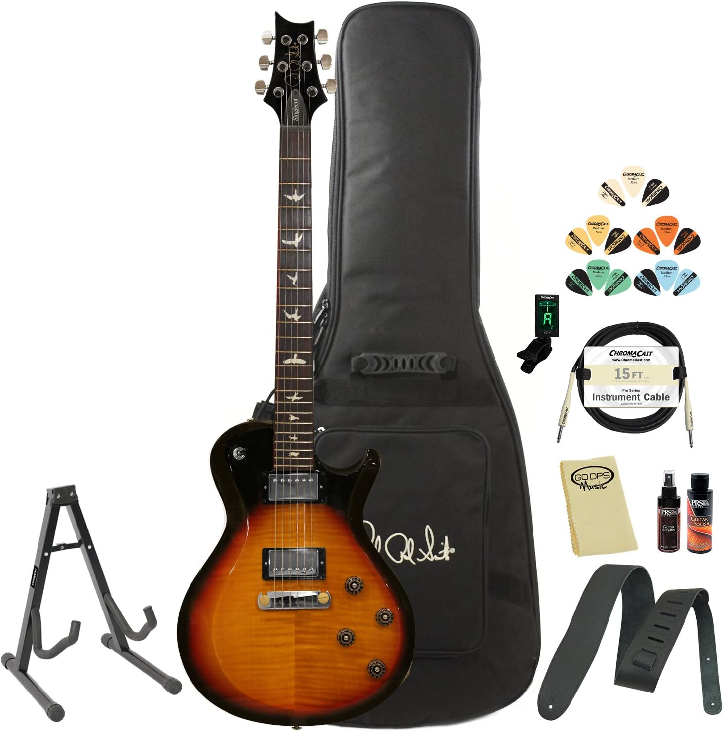 OFFicial store PRS S2 Standard 24 Satin Electric Acce and Guitar Hard Special price for a limited time Case with