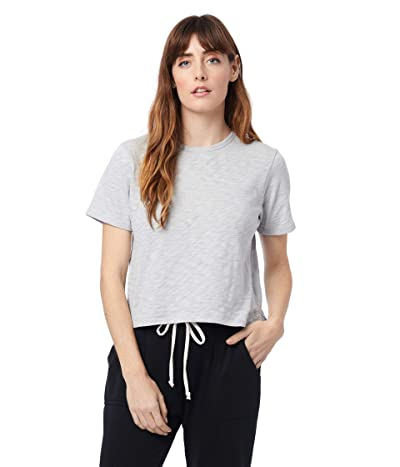 Alternative Hayes Organic Corront Slub Cropped T-Shirt