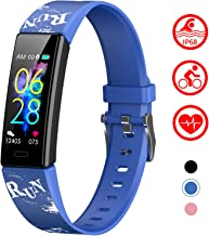 Mgaolo Slim Fitness Tracker for Kids Women,IP68 Waterproof Activity Tracker with Blood Pressure Heart Rate Sleep Monitor,11 Sport Modes Health Smart Watch with Pedometer Alarm Clock,Great Gift