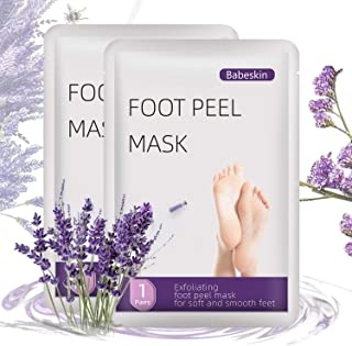 Foot Mask,Foot Peel Mask For Women,4 Pieces Of Foot Masks,Exfoliant For Soft Feet In 7 days, Exfoliating Booties For Peeli...
