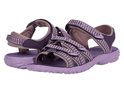 Teva Kids Tirra (Little Kid/Big Kid) (Falls Purple Pennant) Girls Shoes