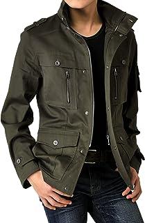 (アローナ)ARONA ジャケット メンズ アウター 春 夏 秋 服 綿サテン M65 ミリタリージャケット