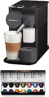 De'Longhi Nespresso EN500.B Lattissima One Kaffekapselmaskin, 1400 W, 1 l, Svart