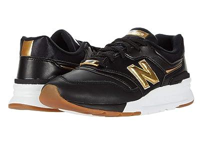 New Balance Classics 997H (Black/Gold) Women