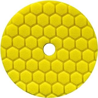 Chemical Guys BUFX111HEX6 Hex-Logic Quantum Heavy Cutting Pad (Yellow, 6.5 Inch)