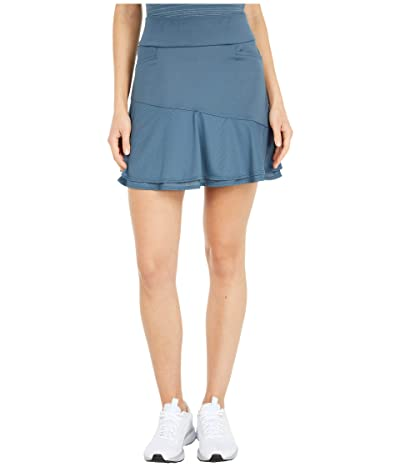 adidas Golf Ultimate365 Knit Frill Skort (Legacy Blue) Women