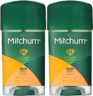 Mitchum Clear Gel Antiperspirant & Deodorant for Men, Super Sport - 2.25 oz - 2 pk