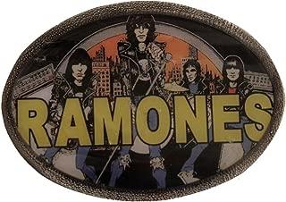 Men's RAMONES Punk Rock Metal Belt Buckle