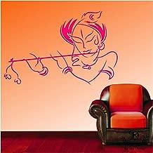 "Kayra Decor Vinyl ""Lord Krishna"" Reusable Wall Stencil Plastic Sheet for Wall Decor (16 x 24inches)"