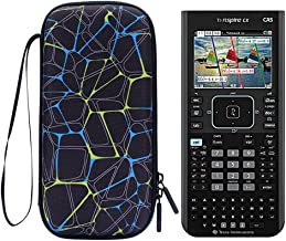 Cover for TI Nspire CX CAS - MASiKEN Carrying Case Storage Bag for Texas Instruments Nspire CX CAS Graphing Calculator, Texas Instruments, Casio, HP Graphing Calculator (Black)