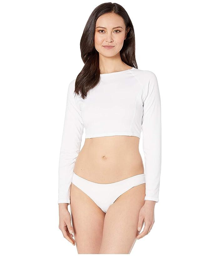 Carve Designs Aruba Sunshirt (White) Women