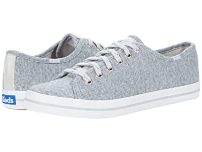 Keds Kickstart Triangle Jersey (Light Gray) Women