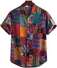 Yualice Camicie Casual Hawaiana Uomo