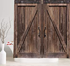 Best barn door style curtains Reviews