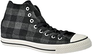 Converse - All Star Hi Textile Plaid, Sneaker Unisex - Adulto