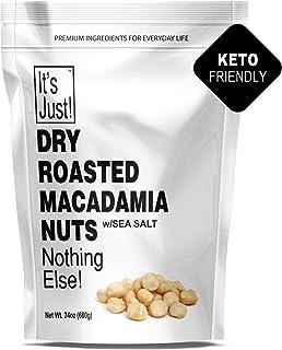 It's Just - Macadamia Nuts, Dry Roasted, Sea Salted (Dry Roasted / Sea Salted, 24oz)