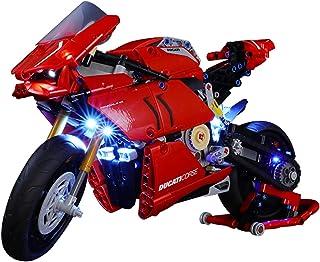 LED Light Kit Light Set for Lego (Ducati Panigale V4 R) 42107, NOT Included The Lego Model