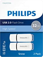 Philips USB Flash Drive Snow Edition 32GB, USB2.0, 2-Paquetes