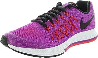 sale retailer 09ed3 0614c Nike Girls  Zoom Pegasus 32 Running Shoes-Vivid Purple Black ...