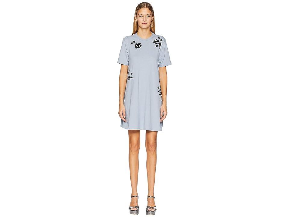 McQ Babydoll Dress (Washed Porcelain Blue) Women