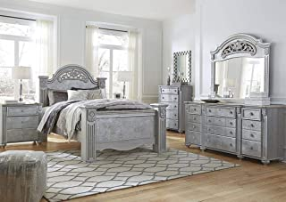 Amazing Buys Zolena Bedroom Set by Ashley Furniture - Includes Queen Bed, Dresser, Mirror, 2 Night Stands and Chest