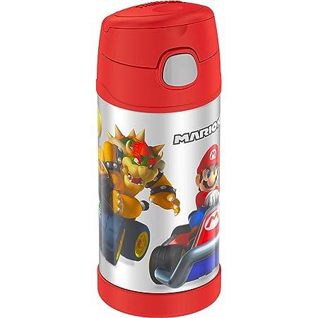 Kids STOR Super Mario Childrens Toddlers Plastique Boissons Tasse avec souple Paille