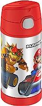 Thermos Funtainer Botella de 354.88 ml, Super Mario Brothers, 12 onzas, 1