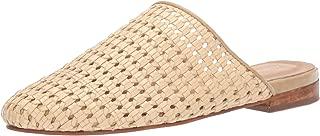 KAANAS Womens M00032N Naxos Basketweave Flat Mule Slide Shoe