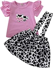 Any theme color and size Custom Baby Girl Onesie with Skirt Vaca Lola