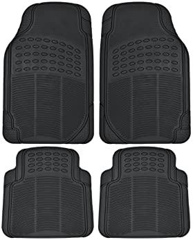 bench seat conference layout Black Durable Rubber Car Mats for Mercedes Viano