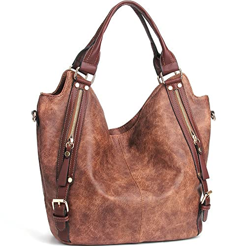 1e28cf5b45ff JOYSON Women Handbags Hobo Shoulder Bags Tote PU Leather Handbags Fashion  Large Capacity Bags