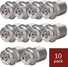 General Pump 8.708-573.0 Pressure Washer Nozzle (10pk) 1503 (15 Degree Size #03) Threaded