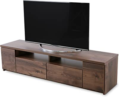 LOWYA ロウヤ TVボード テレビ台 ローボード 国産 テレビボード 50型 幅177.6 ブラウン