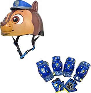 Nickelodeon Paw Patrol Toddler Bike / Skate Helmet Pads & Gloves - 7 Piece Set
