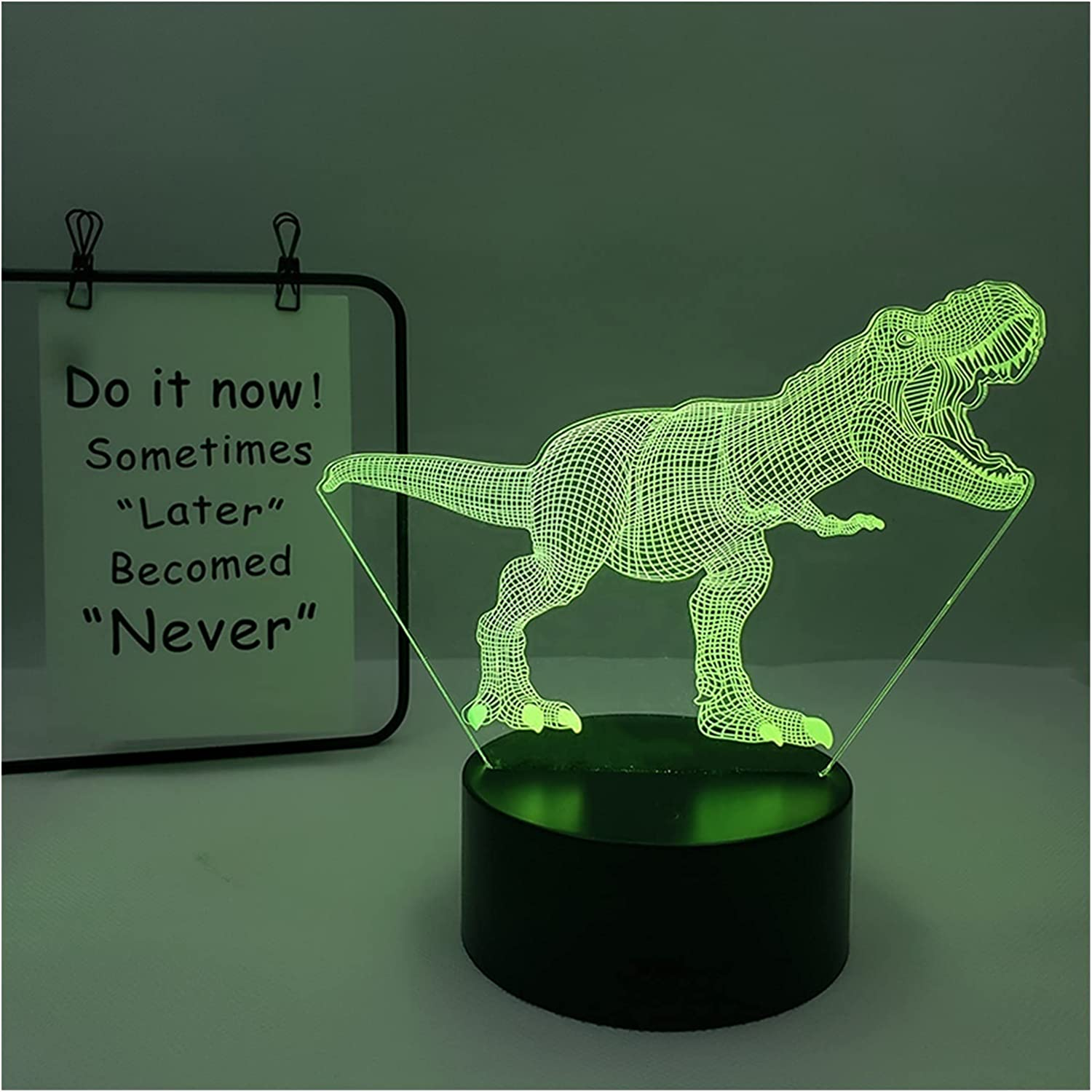 YISLWHUO Night Light LED Lamp Bombing new Department store work Table Control Remote L