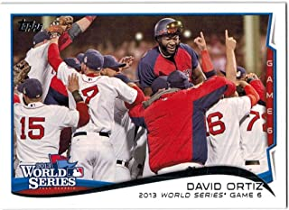 2014 Topps Series 1 & 2 Boston Red Sox (2013 WS Champs) Team Set with Xander Bogaerts RC & 2 David Ortiz - 27 MLB Cards
