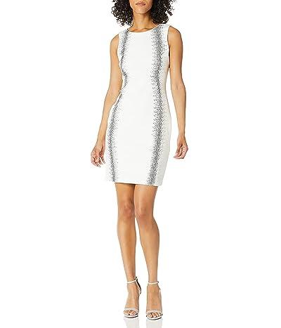 Calvin Klein Petite Sleeveless Sheath Dress With Heat Fix