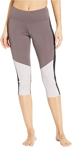 Workout Ready Color Blocked Capris