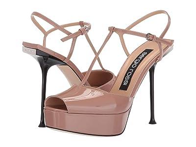 Sergio Rossi A83500-MVIV01 (Bright Skin Patent) High Heels
