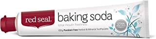 Red Seal Baking Soda Toothpaste – Neutralizes Plaque Acids, Nourishes, Protects Teeth & Gum Health Naturally & Cleans for ...