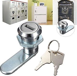 dDanke キーロック オフィス家具用ロック ロッカー 収納ボックス 秘密の宝箱 秘密ボックス キーを開け ボックス用 安全ロック 盗難防止 キーを2枚入り