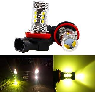 Dantoo 2 x H8 LED Bulbs H11 Fog Lights Extremely Bright...