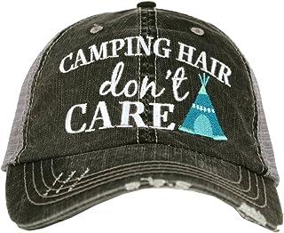 dbcfca72960d7 Katydid Camping Hair Don t Care Women s Trucker Hat
