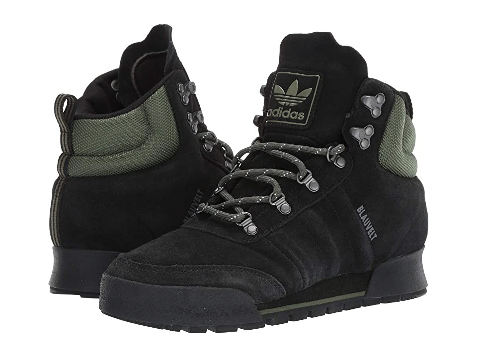 adidas Skateboarding Jake Boot 2.0 (Black/Base Green/Black) Men