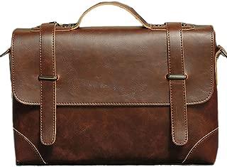 NUBEN Men Shoulder Bag Messenger Bags Casual Totes Retro Style Briefcase