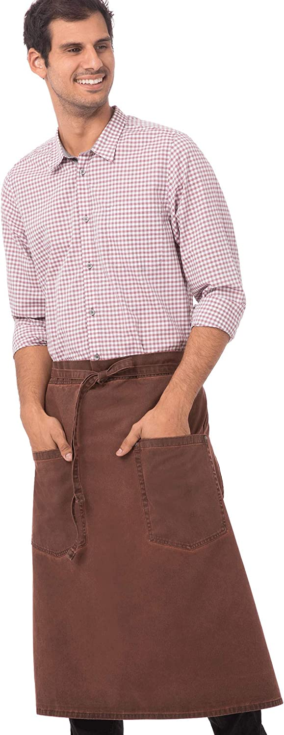 Free shipping anywhere in the nation Chef Works Dallas Mall unisex-adult Dorset Bistro Apron