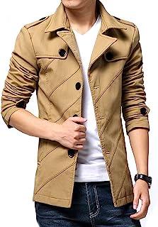 [ Make 2 Be ] スタイリシュ メンズ ジャケット テラード ジャケット コート アウター ビジネス カジュアル 春 秋 冬 防寒 豊富なサイズ MA02