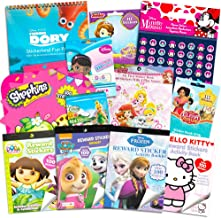 Stickers for Girls Toddlers Kids Ultimate Set ~ Bundle Includes 11 Sticker Packs with Over 1800 Stickers Featuring Disney ...